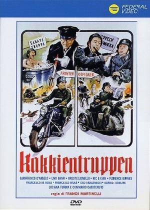 copertina di Kakkientruppen