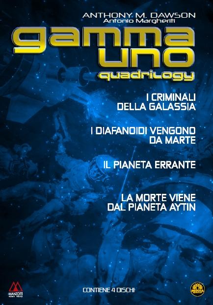 copertina di Gamma Uno Quadrilogy