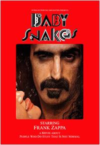 copertina di Baby Snakes