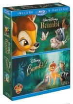 copertina di Bambi + Bambi 2 (2 Blu-Ray Disc + E-Copy)