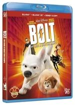 copertina di Bolt 3D - Un eroe a quattro zampe (bd3d+bd)
