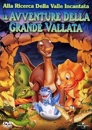 copertina di Alla ricerca della Valle Incantata 2 - Le avventure della grande vallata