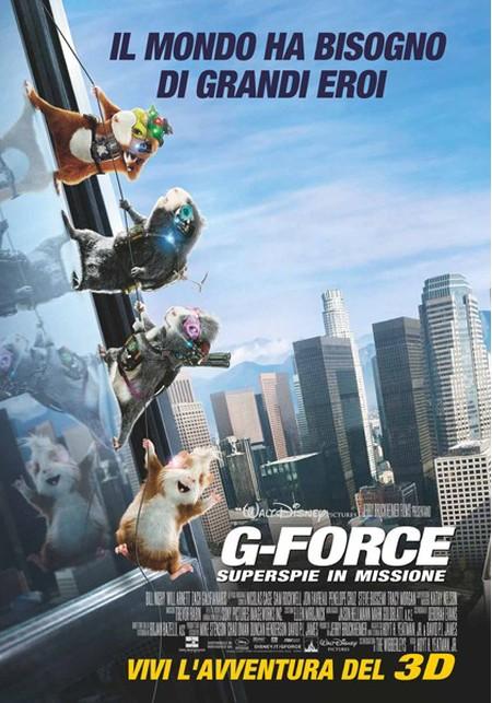 copertina di G-force - Superspie in missione