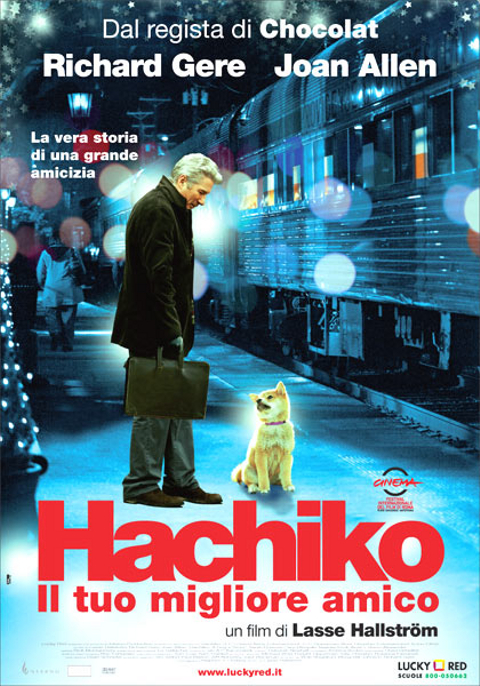 copertina di Hachiko - Il tuo migliore amico