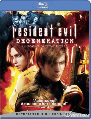 copertina di Resident Evil - Degeneration