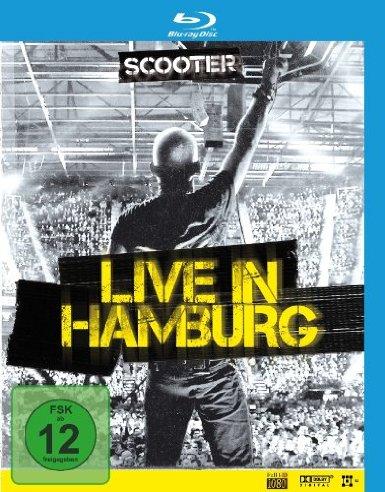 copertina di Scooter - Live in Hamburg 2010