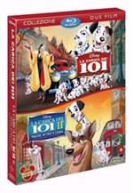 copertina di Carica dei 101, La + La Carica dei 101 II - Macchia, un eroe a Londra (Cofanetto 2 Blu-Ray Disc)