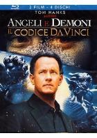 copertina di Angeli e Demoni + Il Codice Da Vinci - Extended Cut (4 Blu ray)