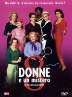 copertina di 8 donne e un mistero