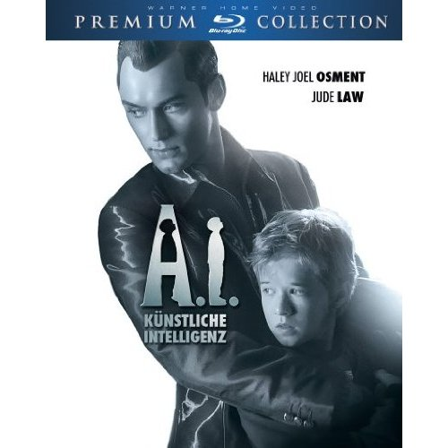 copertina di A.I. - Intelligenza artificiale (A.I. Kunstliche Intelligenz)  Digibook  Premium Collection