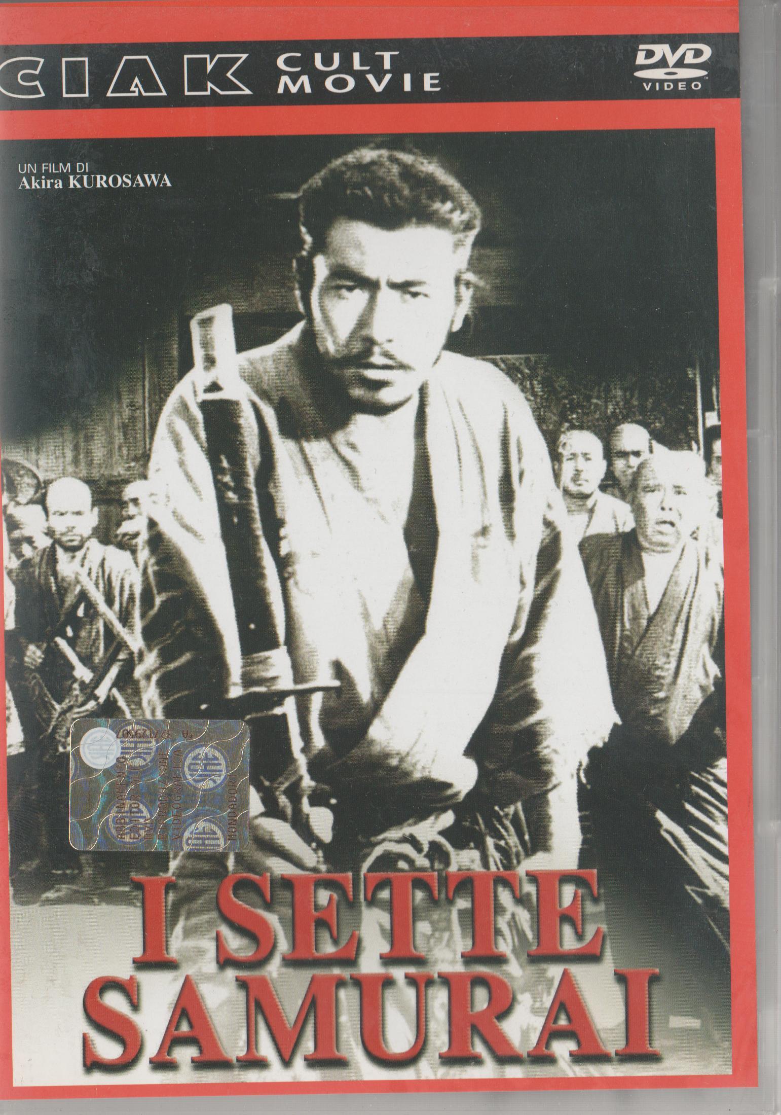 copertina di Sette samurai, I