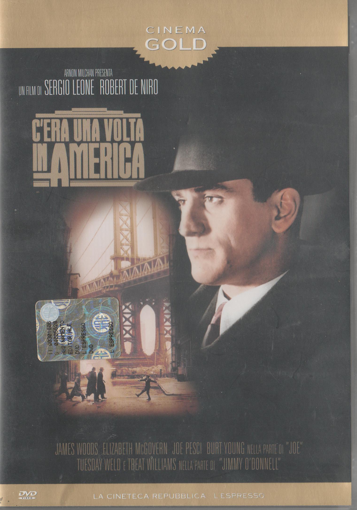 copertina di C'era una volta in America