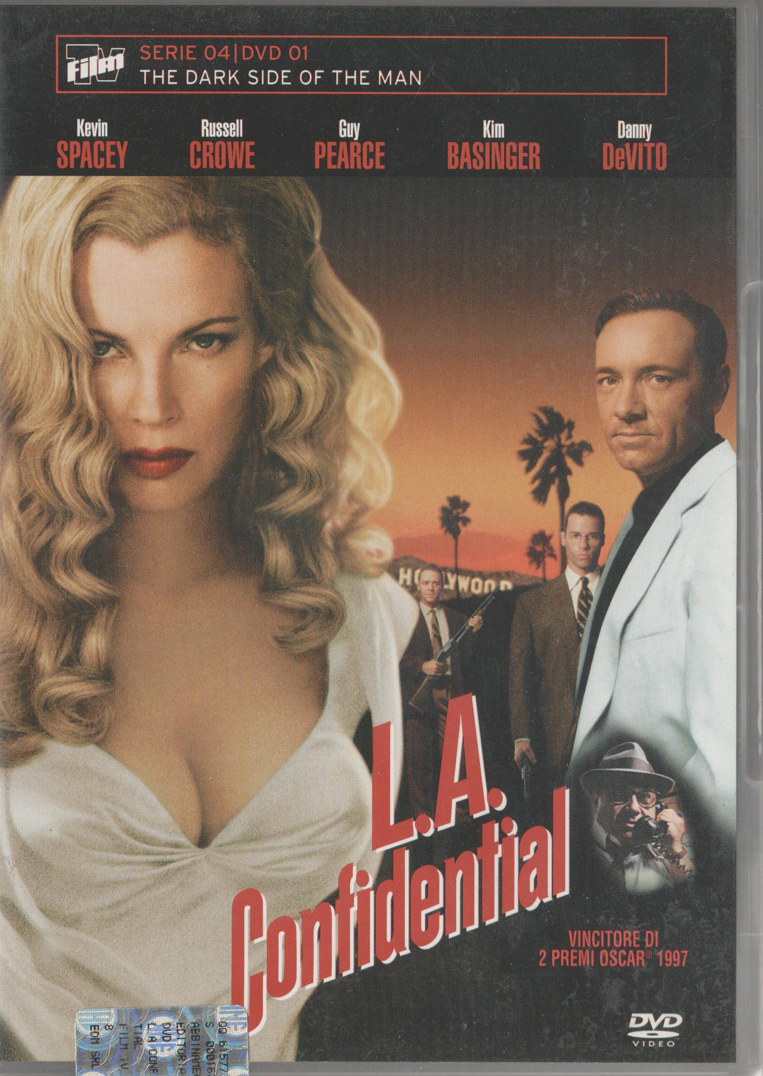 copertina di L.A. Confidential