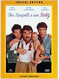 copertina di Tre scapoli e un bebè