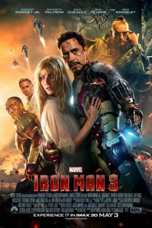 copertina di Iron Man 3