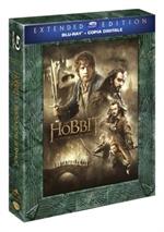 copertina di Hobbit, Lo - La desolazione di Smaug Extended Edition (3 Blu ray disc)