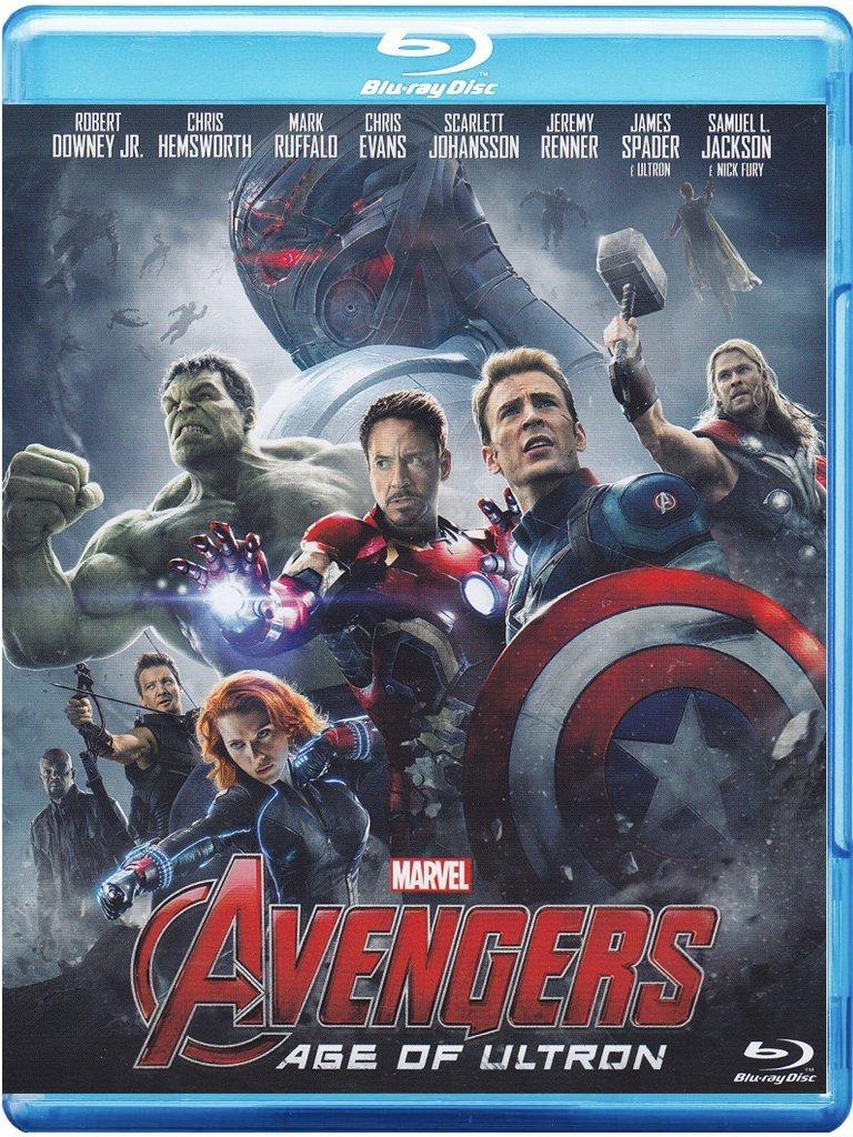 copertina di Avengers - Age of Ultron