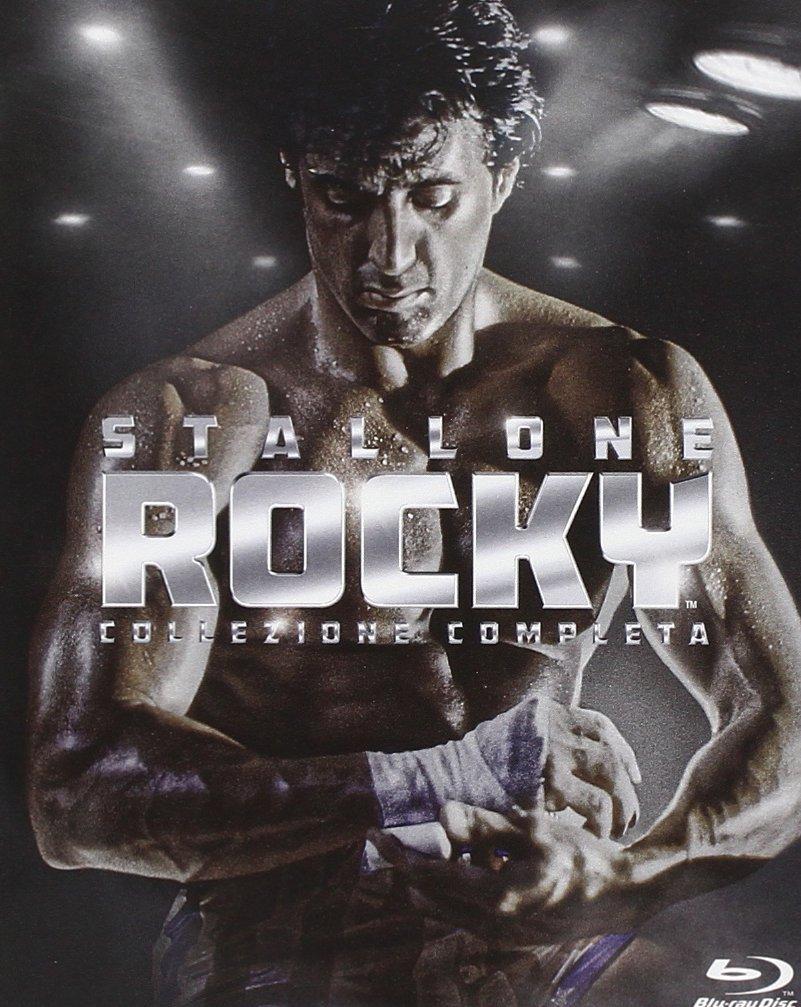 copertina di Rocky - La saga completa (6Blu Ray Disc)