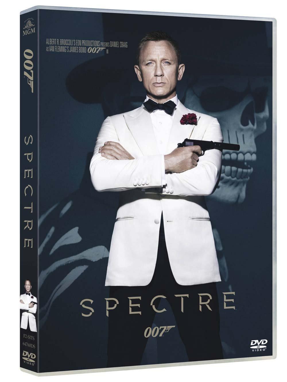 copertina di 007 - Spectre