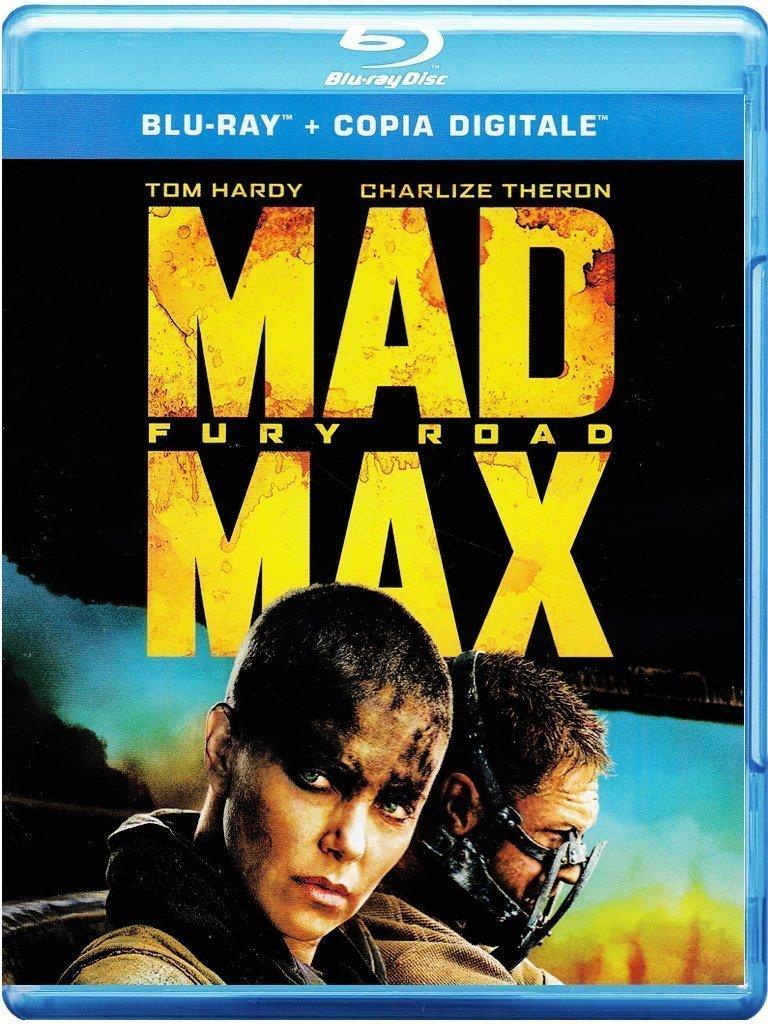 copertina di Mad Max - Fury Road (Blu-Ray Disc + Copia Digitale)