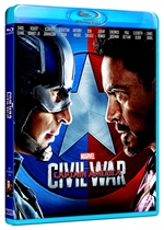 copertina di Captain America- Civil War