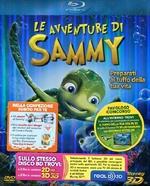 copertina di Avventure di Sammy, Le - Combo Pack (Blu-Ray 3D/2D + DVD)