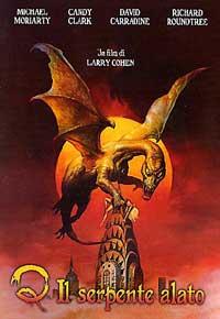 copertina di Q - Il serpente alato
