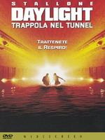 copertina di Daylight - Trappola nel tunnel