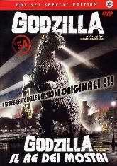 copertina di Godzilla + Godzilla il re dei mostri
