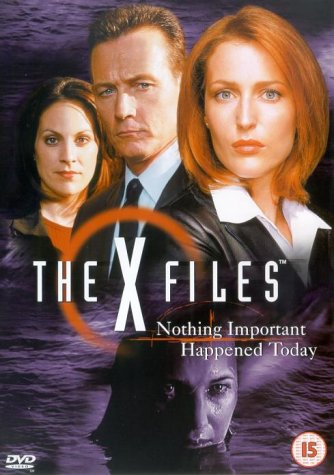 copertina di X-Files - Nothing Important Happened Today