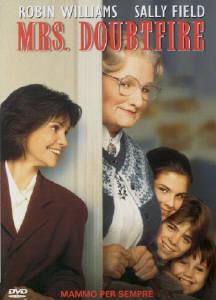 copertina di Mrs. Doubtfire - Mammo per sempre