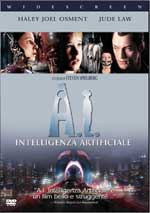 copertina di A.I. - Intelligenza artificiale