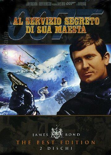 copertina di 007 - Al servizio segreto di Sua Maestà - The Best Edition