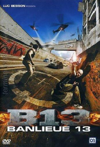 copertina di B13 - Banlieue 13
