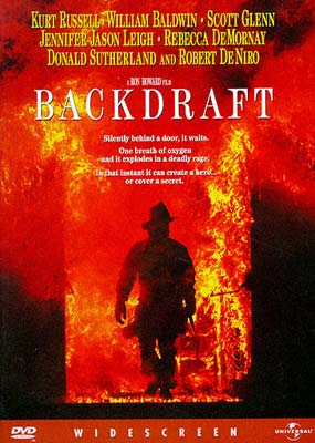 copertina di Backdraft