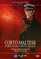 copertina di Corto Maltese - Corte Sconta Detta Arcana