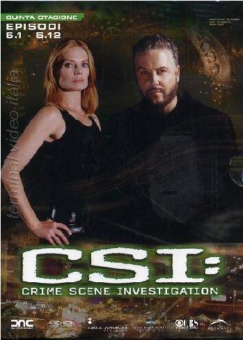 copertina di C.S.I. - Scena del Crimine - Stagione 5  Episodi 1-12