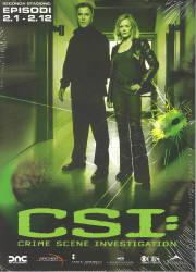 copertina di C.S.I. - Scena del Crimine - Stagione 2 Episodi 1-12