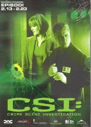 copertina di C.S.I. - Scena del Crimine - Stagione 2 Episodi 13-23