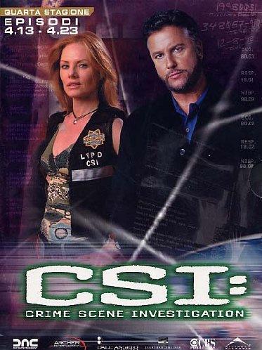 copertina di C.S.I. - Scena del Crimine - Stagione 4 Episodi 13-23
