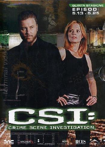 copertina di C.S.I. - Scena del Crimine - Stagione 5  Episodi 13-25