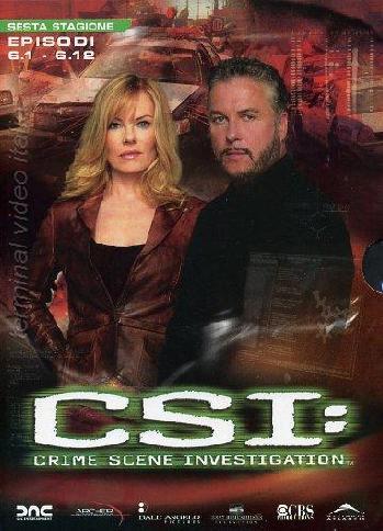 copertina di C.S.I. - Scena del Crimine - Stagione 6 Episodi 1-12