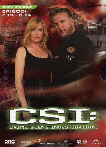 copertina di C.S.I. - Scena del Crimine - Stagione 6 Episodi 13-24
