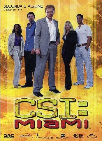 copertina di C.S.I. MIAMI - Stagione 2 Episodi 1-12
