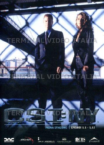 copertina di C.S.I. New York - Stagione 1 Episodi 1-12