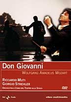 copertina di Don Giovanni - W.A. Mozart
