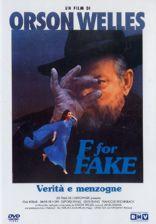copertina di F for Fake - Verità e menzogne