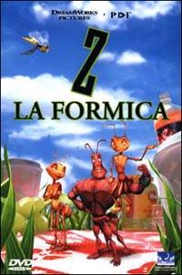 copertina di Z la formica