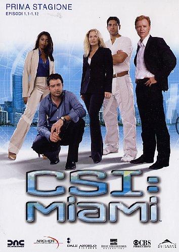 copertina di C.S.I. MIAMI - Stagione 1 Episodi 1-12