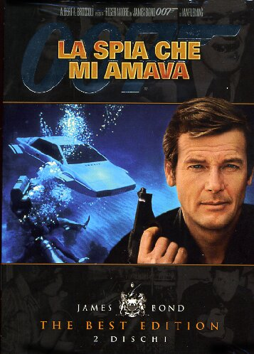 copertina di 007 - La Spia che Mi Amava - The Best Edition